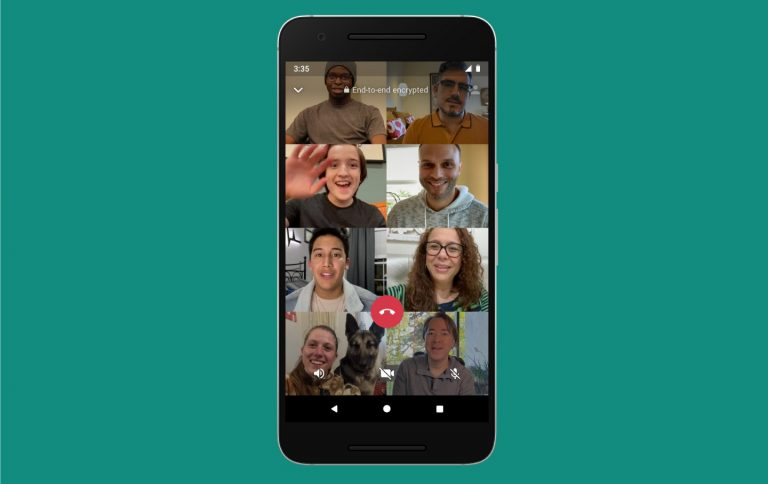 WhatsApp New feature : Users can do group calling with 8 members at once